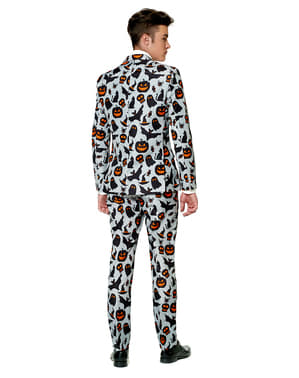 Suitmeister Halloween Grey Icons jakkesæt