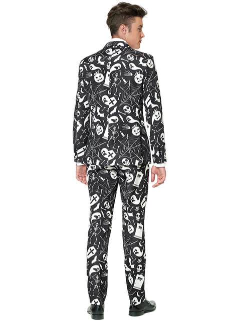 Traje Halloween Black Icons Suitmeister - hombre