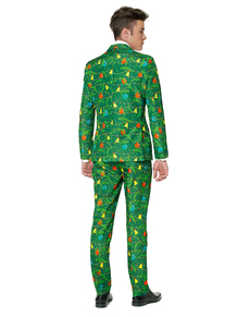 Traje Christmas Green Tree Suitmeister