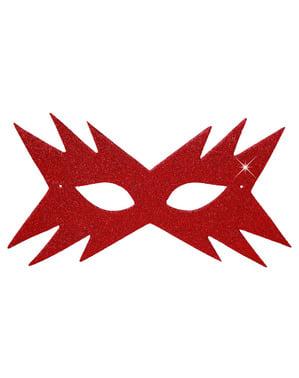 Kadının Kırmızı Yıldızı Masquerade Maskesi