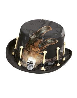 Pánský klobouk pro vúdú čaroděje