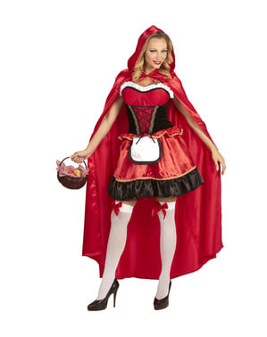 Woman's Woodland Little Red Riding Hood Costume