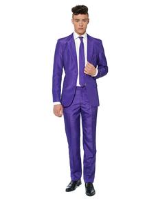 Traje Solid Purple Suitmeister