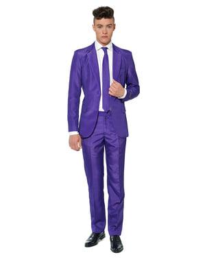 Originální oblek OppoSuit Suitmeister čistě fialový