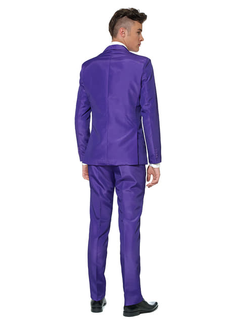 Traje Solid Purple Suitmeister