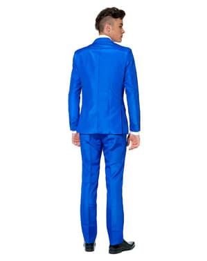 Originální oblek OppoSuit Suitmeister čistě modrý