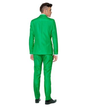 Твердий зелений костюм