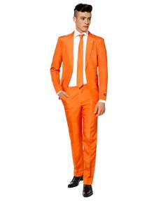 Traje Solid Orange Suitmeister
