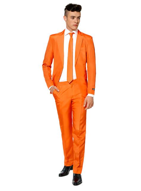 Garnitur Solid Orange Suitmeister