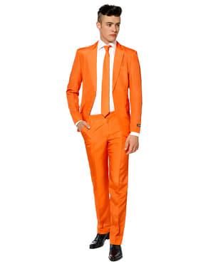 Originální oblek OppoSuit Suitmeister čistě oranžový