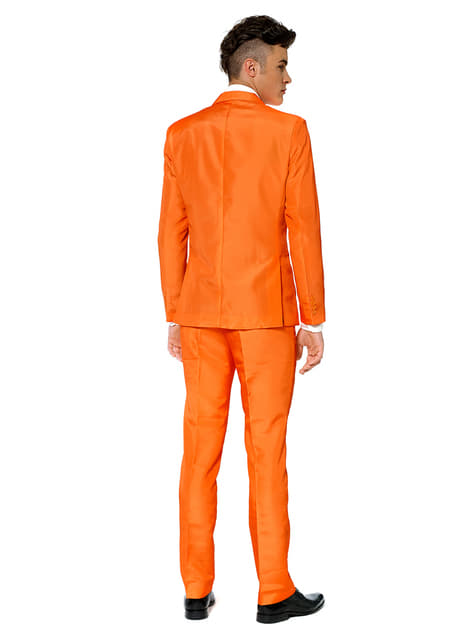 Solid Orange Suitmeister Anzug