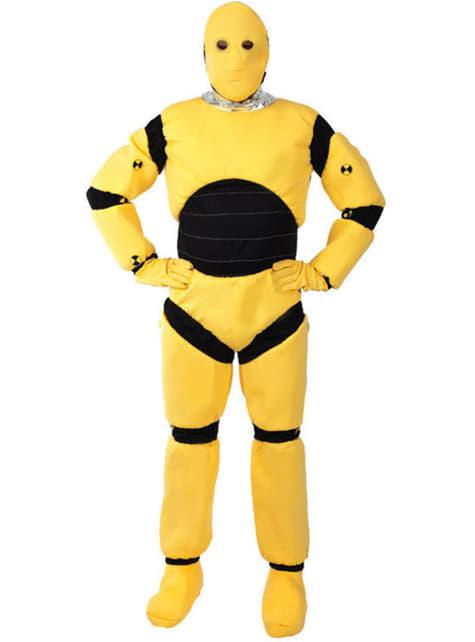 Disfraz de dummy para adulto