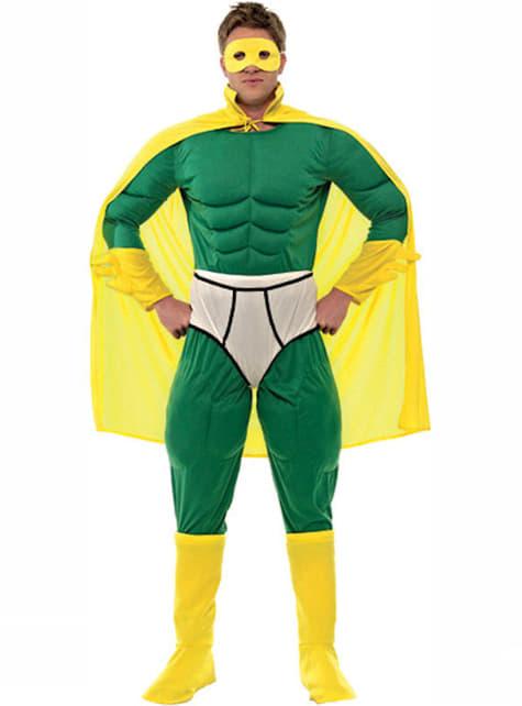 Disfraz de Capitán Y-Fronts para hombre