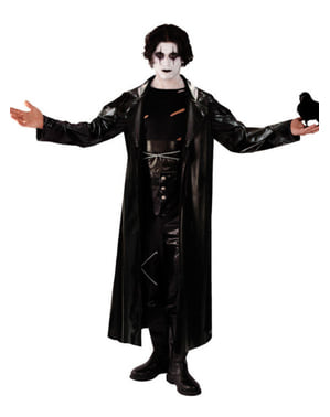 Man's Vengeful Crow Costume