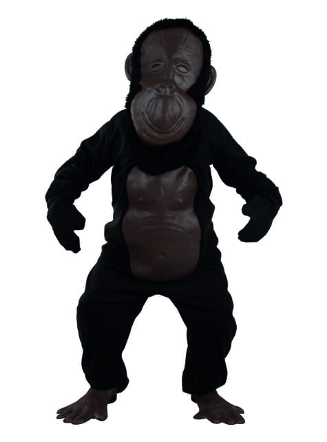 Disfraz de orangután gigante para hombre