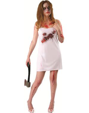 Vestido de acribillada a tiros para mujer