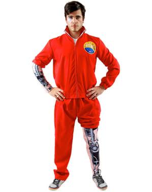 Man's Bionic Man Costume