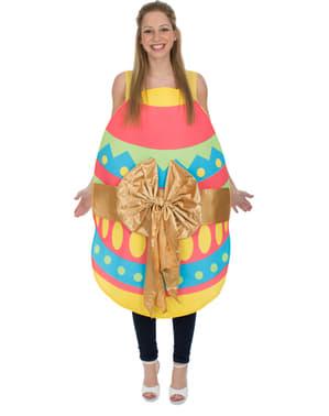 Disfraz de huevo de pascua para adulto