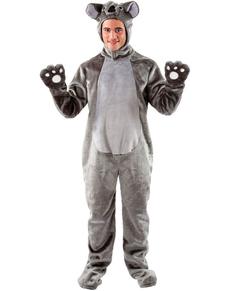 Disfraz de koala adorable para hombre
