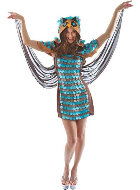 Disfraz de lechuza nocturna para mujer
