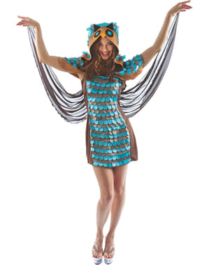 Woman's Nocturnal Owl Costume