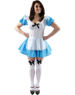 Maskeraddräkt Underbara Alice dam