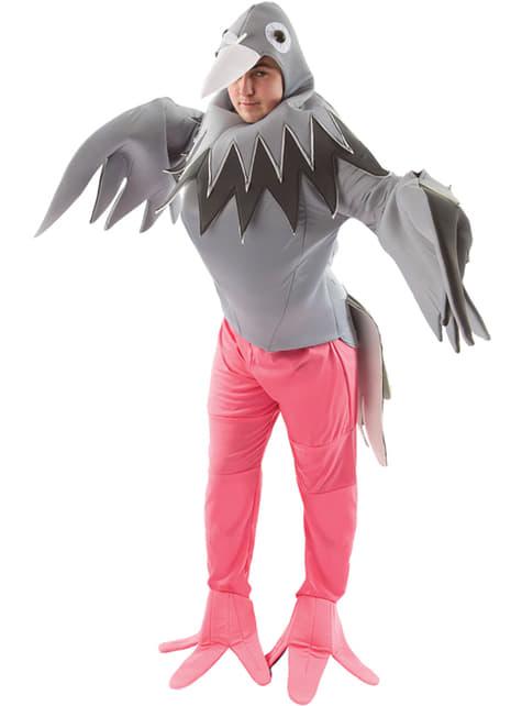 Disfraz de palomo para adulto