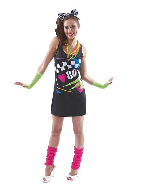 Disfraz de I love the 80s para mujer