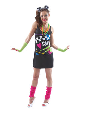I love the 80's kostume til kvinder