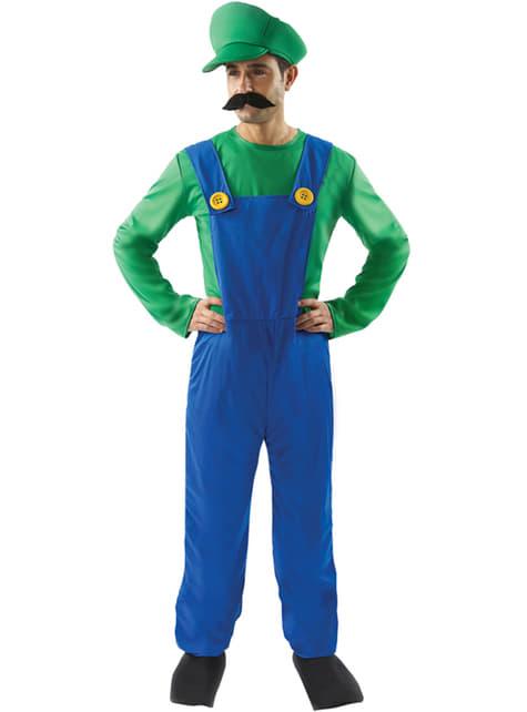 Man's Italian Plumber's Helper Costume
