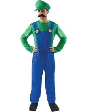 Disfraz de ayudante de fontanero italiano para hombre