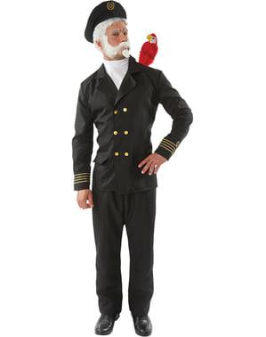 Schiffskapitän Kostüm für Herren