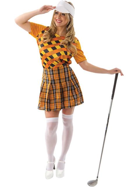 Disfraz de golfista profesional para mujer