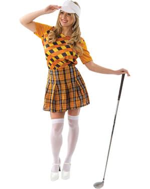 Professionelle Golfspielerin Kostüm für Damen