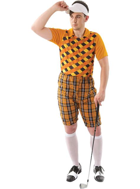 Man's Professional Golfer Costume