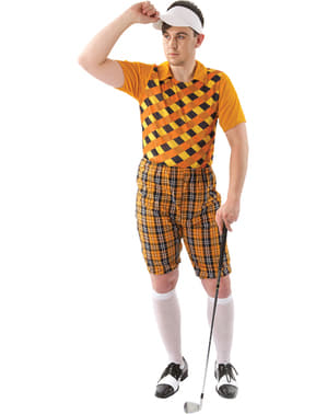 Professioneel golfer kostuum voor mannen