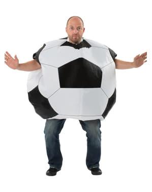 Aufblasbares Fußball Kostüm für Erwachsene