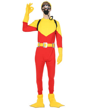 Adult's Diver Explorer Costume