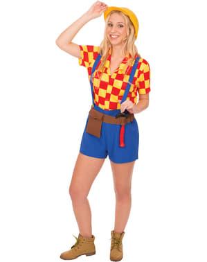 Belinda die Bauarbeiterin Kostüm für Damen