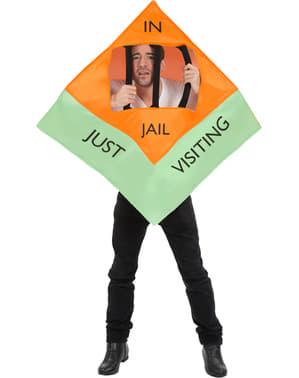 Costum de constructor în închisoare pentru adult