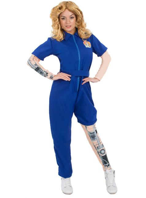 Bionische Frau Kostüm für Damen