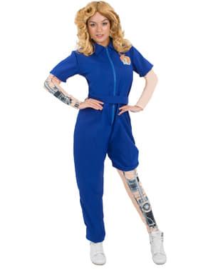 Bionische vrouw kostuum voor vrouw