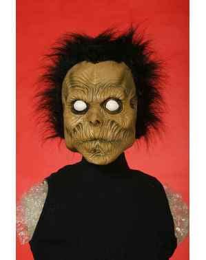 Máscara de zombie desorientado para adulto