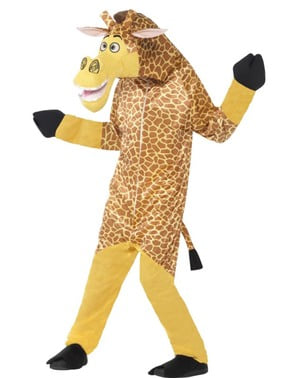 Maskeraddräkt Melman Madagascar för barn