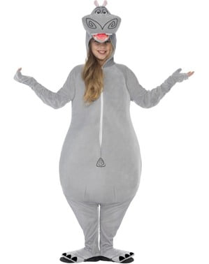 Disfraz de Gloria Madagascar infantil
