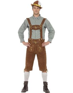 Bayrisches Lederhose Kostüm für Herren