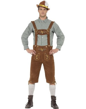 Man's Hans the Bavarian Costume