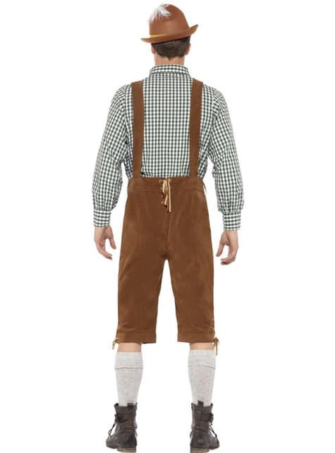 Disfraz de bávaro Hans para hombre - hombre