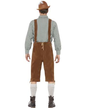 Vestito bavarese uomo