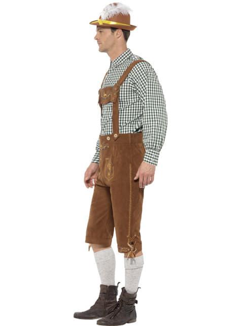 Disfraz de bávaro Hans para hombre - original